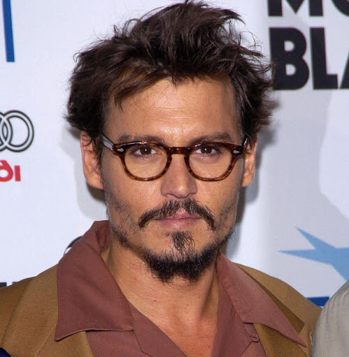 johnny-depp and glasses